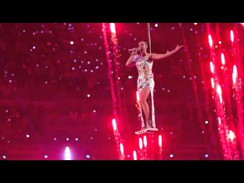 Katy Perry Slow Motion Super Bowl XLIX thumbnail