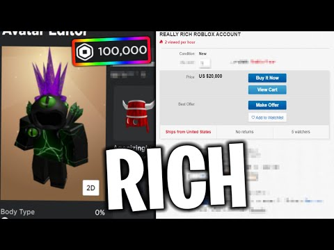 Buying Rare Roblox Accounts From Ebay Youtube