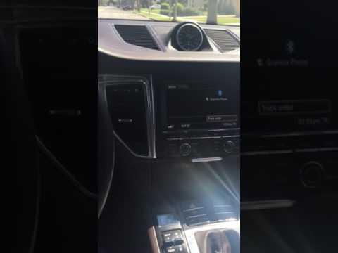 Porsche Macan S launch control
