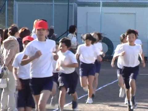 小学生 男女混合校内マラソン大会