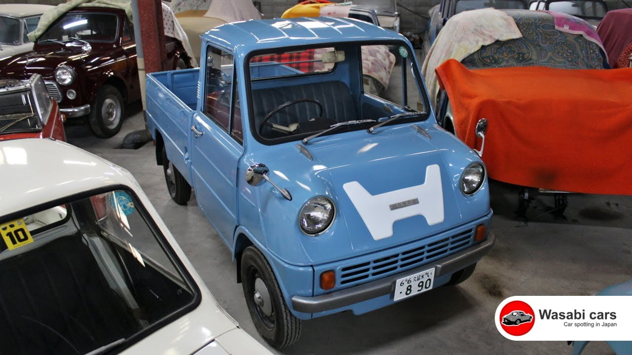 Honda\'s First Production Car - the T360 (1963 - 1967) - YouTube
