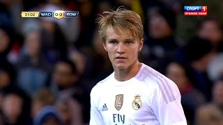 Martin Ødegaard vs AS Roma (Neutral) 15-16 HD 1080i - English Commentary