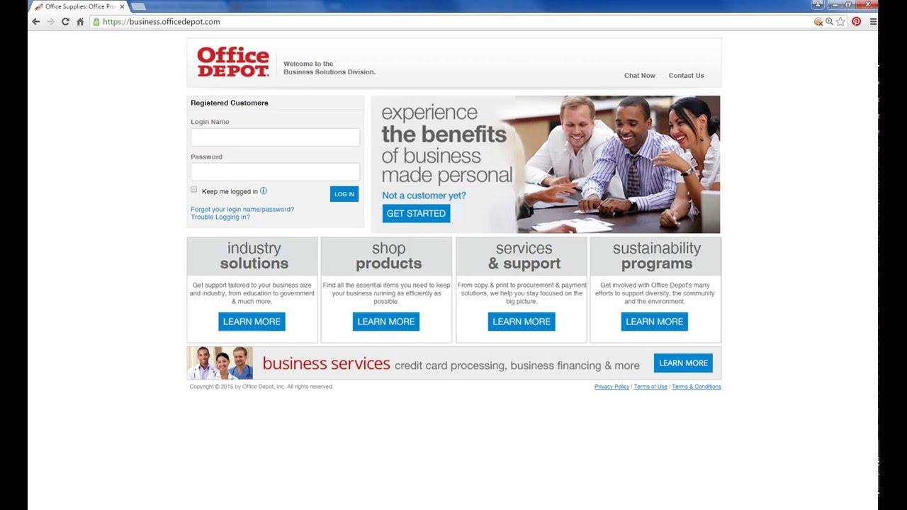 Office Depot \'Share Cart\' Feature - YouTube