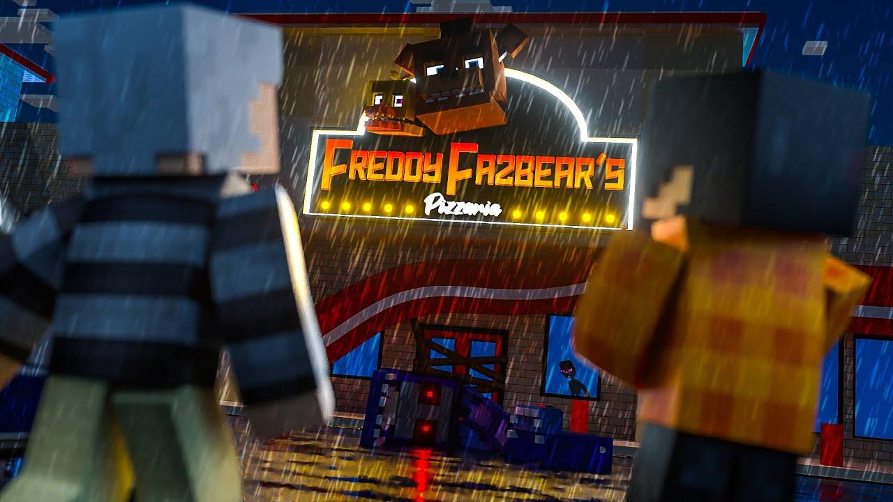 Minecraft: Five Nights at Freddy's 4 - O RETORNO À PIZZARIA DE ANIMATRONICS! #08