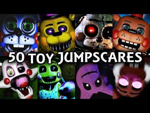50 TOY JUMPSCARES! | FNAF & Fangame