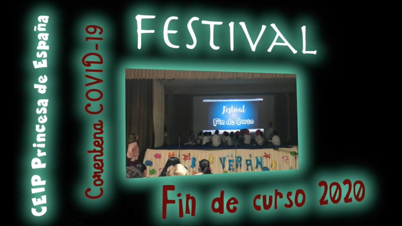 FESTIVAL FIN DE CURSO A DISTANCIA