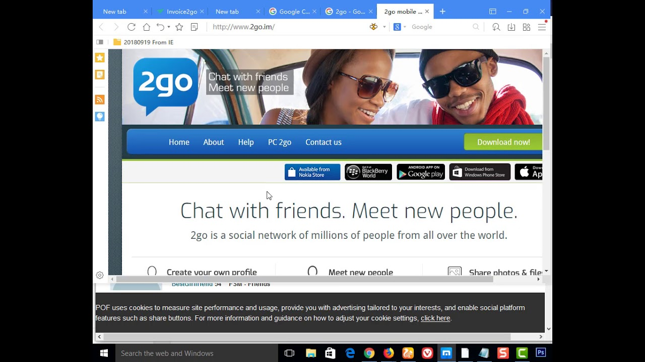 2go Account Sign Up, Sign In and App Download