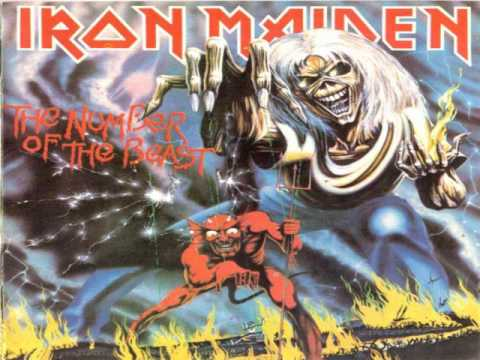 Iron Maiden-The Number of the Beast Lyrics