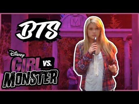 Oliva Holt: BTS of girl vs Monster Musical Number