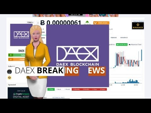 Cryptocurrency DAEX $DAX Gains 84% Over the Past 24 Hours 2