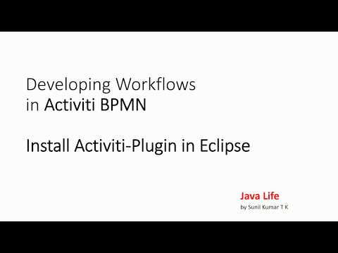 Activiti Training 2 - Activiti Eclipse plug-in - installation and basics