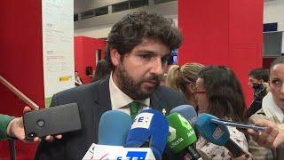 "López Miras cree que ""era evidente"" que Torra iba a perder su escaño"