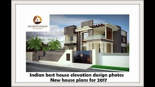 budget top 10 Indian home front elevation design  |  budget house design ideas