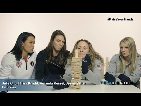 Olympic And Paralympic Athletes Test Go USA Fan Mittens