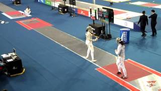 15.03.29 T64 QIAN Jiarui(CHN) vs AKSAMIT Monica(USA) - 2015 Seoul Fencing WS/MS Grand Prix