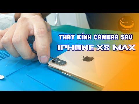 Thay kính camera sau iPhone Xs Max chuyên nghiệp lấy ngay