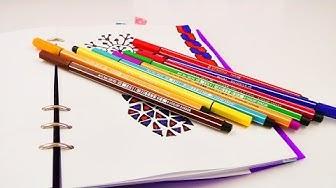 3 NEUE BILDER  im Filofax   Kathi zeichnet einfache Muster   Tolle Ideen zum Gestalten von Kalendern
