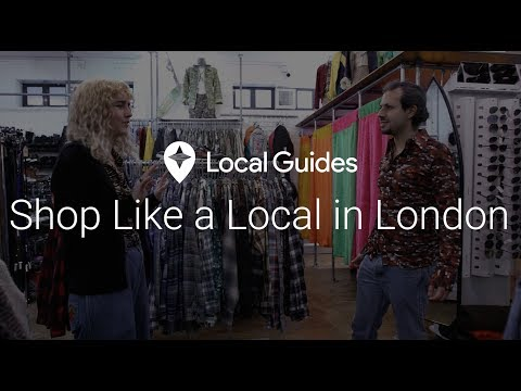 Where to Shop in London for Unique Gifts - Shop Like a Local Ep. 7