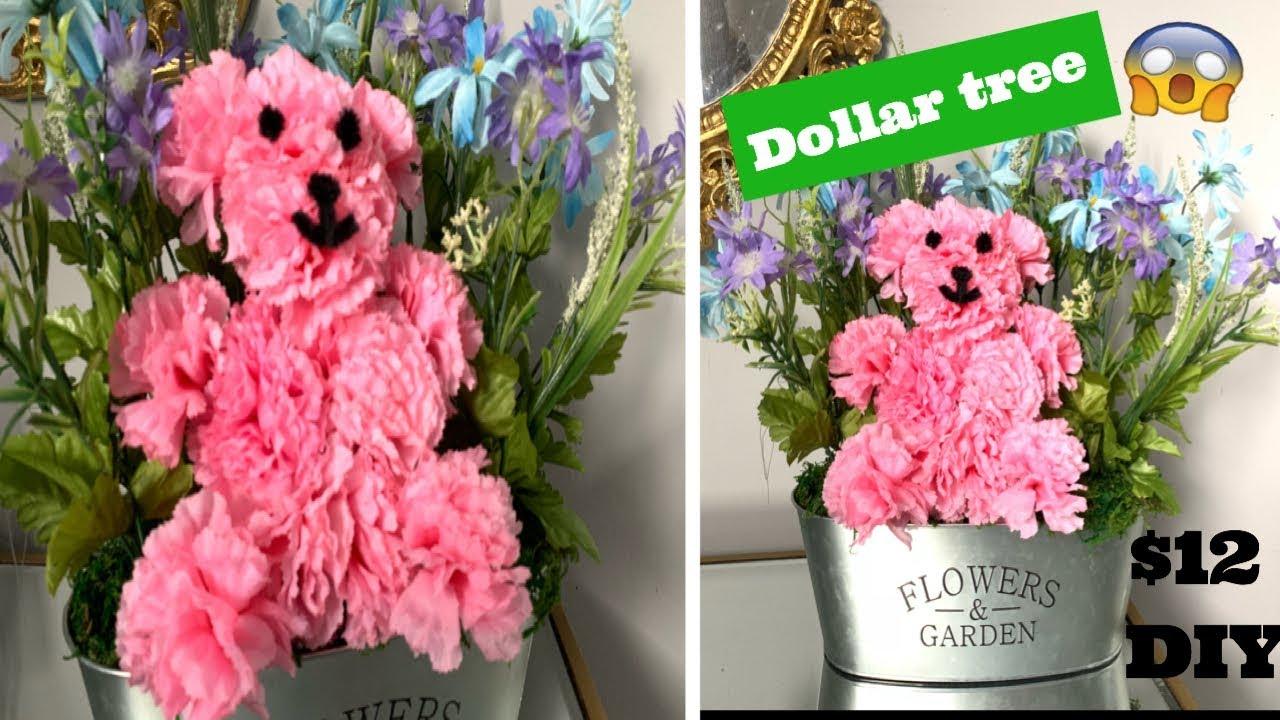 Floral Bear/ Dollar Tree DIY