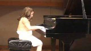 Amanda Lazkani. Sonata No20 in G Major,op 49,no.2 Variations in D Major. Dimitri Kabalevsky