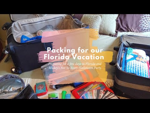 Preparing For Our Florida Mini Vacation | Dollar Tree Haul | Packing For Walt Disney World