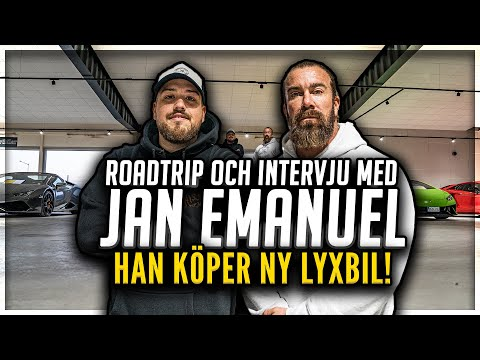 ANIS INTERVJUAR: JAN EMANUEL (+ Roadtrip och ny LYXBIL) *WOW*