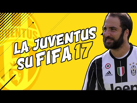 LA JUVENTUS SU FIFA 17 (GAMEPLAY ITA/DEMO)