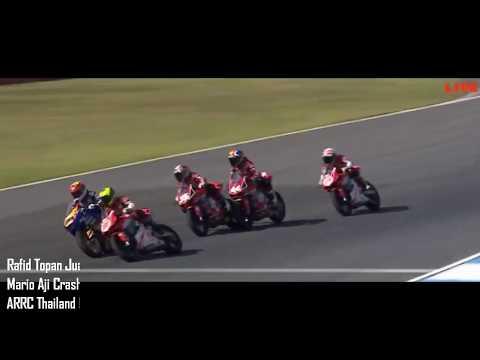 Rafid Topan Juara, Super Mario Crash AP250 Race 1 Thailand