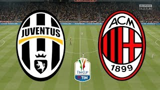 ... juventus play ac milan as they look to head the final!live from copp...