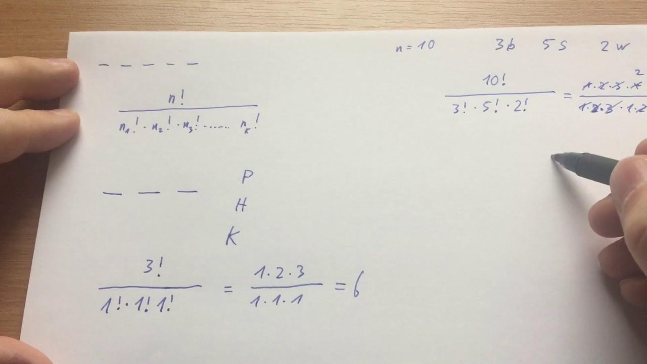 permutationen berechnen permutationen in mathematik sch. Black Bedroom Furniture Sets. Home Design Ideas