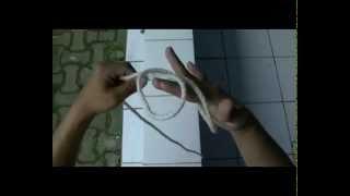 Praktek Pembelajaran Membuat Simpul Tali Temali Pramuka