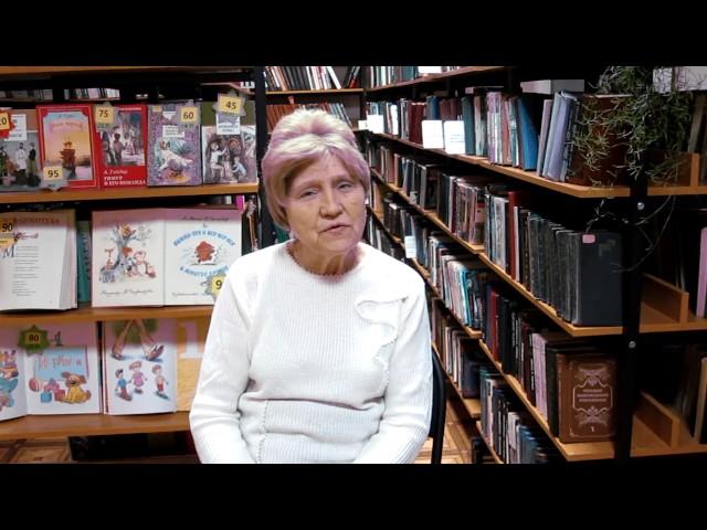 Изображение предпросмотра прочтения – ВалентинаЯковлева читает произведение «Над окошком месяц» С.А.Есенина