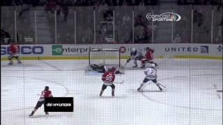 Jeff Petry SHG 1-0 Feb 25 2013 Edmonton Oilers vs Chicago Blackhawks NHL Hockey goal
