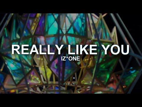 REALLY LIKE YOU - IZ*ONE [LEGENDADO]