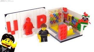 LEGO VIP store & plaque mini-set review! 40178