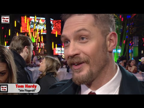 Tom Hardy Gives The Humblest Response To His Oscar Nomination At The Revenant UK Premiere