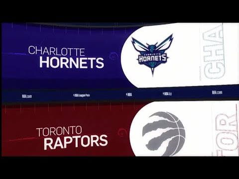 Toronto Raptors Vs Charlotte Hornets Hornets Game Recap 3 24 19 Nba Youtube