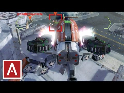 War Robots [WR] - Giant Robot Spider Attacks on Powerplant (Raijin gameplay)