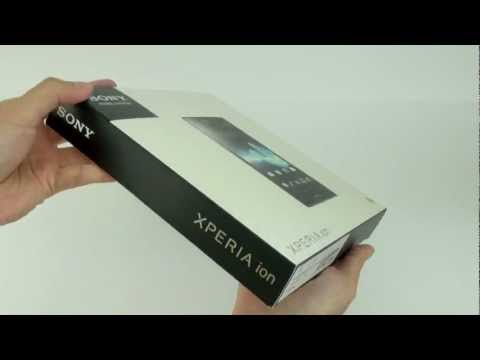 SONY Xperia ion LT28i Unboxing