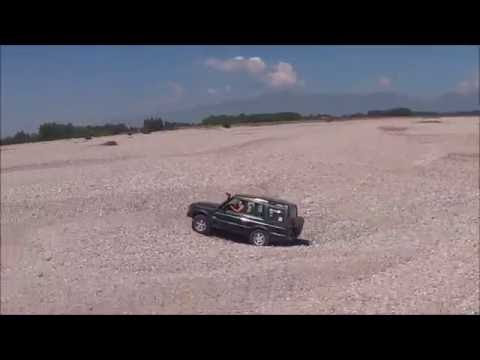 Off-road expedition Italy 2013 - Tagliamento & Alps - Land Rover Discovery