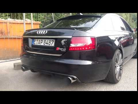 audi a6 3 0 tdi sound auspuff exhaust hdh concepts youtube. Black Bedroom Furniture Sets. Home Design Ideas