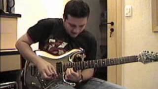 Gustavo Guerra video cover Joe satriani Surfing With the Alien