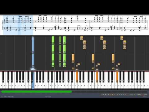 Futurama Theme Extended on Piano Synthesia