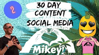 30 day content and social media course 2