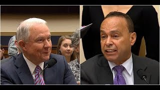 Attorney General Jeff Sessions DESTROYS LEFTIST Rep.Gutierrez on the CLINTON Investigation Free HD Video