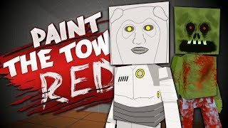 ROBOTS, ZOMBIES and MEMES - Best User Made Levels - Paint the Town Red