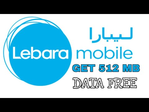 Get 512 MB free data from LEBARA sim|100% working in KSA(Saudi Arabia)|मुफ़्त डेटा पाए।