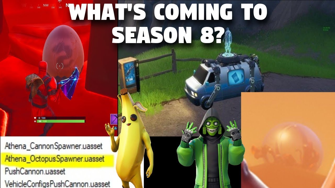 fortnite season8 - new fortnite vehicles season 8