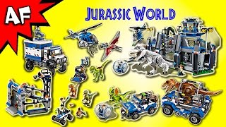 Every Lego JURASSIC WORLD Set - Complete Collection!