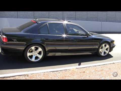 2001 BMW 740i e38 3 inch catback exhaust